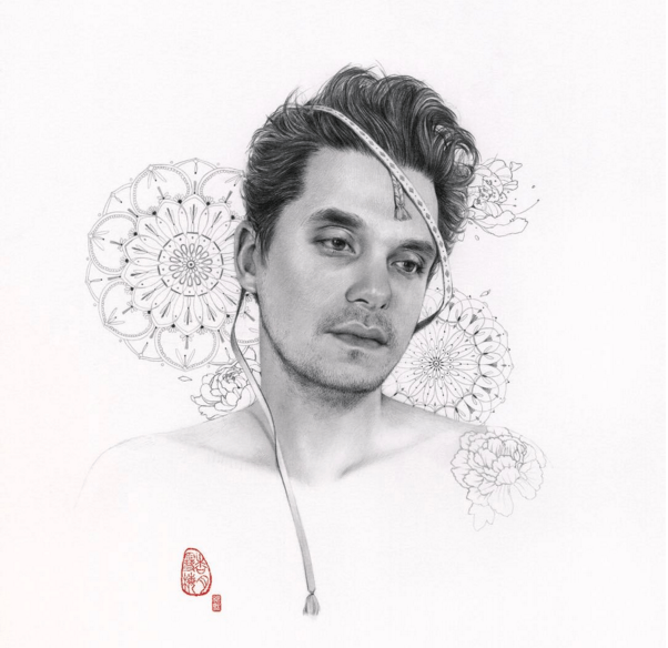 John Mayer Cool Painting: Soey Milk & John Mayer's Creative Collaboration