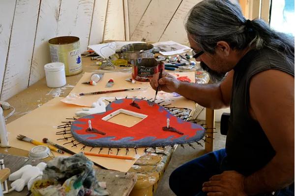 Nicholas Herrera Folk Artist